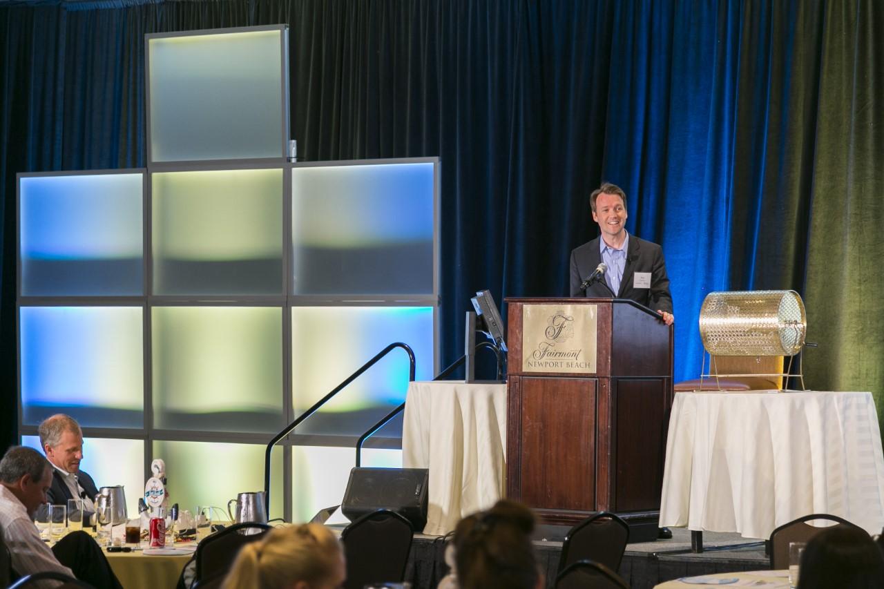 Paul Sorensen, CEO presenting