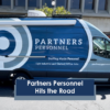 Partners Personnel hits the road with their new mobile staffing van
